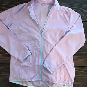 Adidas golf lightweight windbreaker jacket